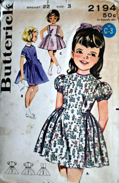 McCall/'s 6504 Sewing Pattern Helen Lee Dress pattern Pinafore Pattern, Girls/' Size 5 vintage pattern Dress pattern Popover Uncut