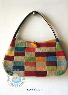 repurpose old sweaters, use larger squares in a rag quilt style.  Could be cute