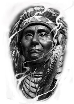 red indian what 2 colors make black - Black Things Native American Drawing, Native American Tattoos, Native Tattoos, Native American Pictures, Native American Artwork, Native American Beauty, American Indian Art, Native American Indians, American History