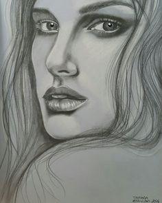 #drawing #pencil #portrait #charcoal 👍✏🖌🎨