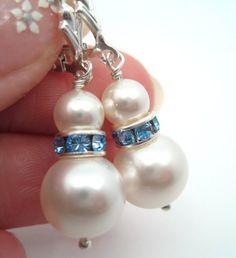 cute snowman earrings