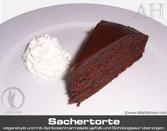 Sachertorte Rezept Sacher Torte Kuchen backen Torte vegan