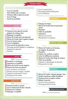 Cleaning Checklist For Housekeeper Planner Organisation, Journal Organization, Cleaning Checklist, Cleaning Hacks, Flylady, Journal Inspiration, Getting Organized, Housekeeping, Clean House