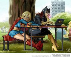 Boring day for the girls, this is every new super hero movie