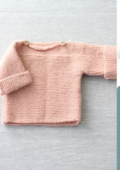 Crochet Baby Sweater Pattern, Baby Sweater Patterns, Knit Crochet, Knitting Books, Knitting For Kids, Easy Knitting, Knitting Increase, Love Knitting Patterns, Woolen Clothes