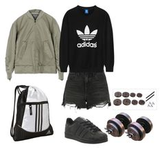 """""""xxxx"""" by sweet-fashionista ❤ liked on Polyvore featuring adidas, Alexander Wang and adidas Originals"""