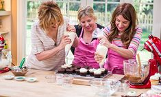 Home & Family - Recipes - Georgetown Cupcakes Irish Cream Chocolate Cupcake | Hallmark Channel