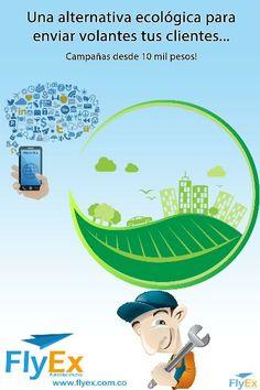 Alternativa ecológica de publicidad app