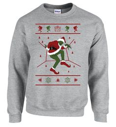 1-800 HOTLINE BLING Ugly Christmas Sweater Green Sweater ...