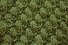 Broken Diagonal Rib Stitch pattern by Derya Davenport