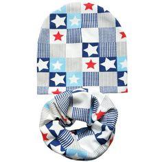 Cotton Baby Hat Set Ice Cream Love Print Cotton Cap Baby Hats Newborn Hat Children Scarf Collar Boys Beanie Kids Cap for Girls