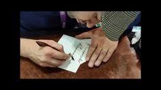Master Penman Jake Weidmann Demoing on Strathmore Writing