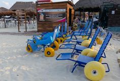 Handicap Access Beach Playa del Carmen ... This simple n simply built concept needs to spread :)