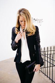 Black never goes out of style.