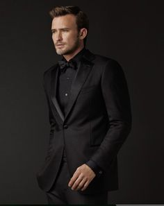 """Black on Black, that's a bit hard to pull off..."" ~Justin Hartley"