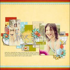 """Layout using """"So Cool"""" by Hidden Heart"""