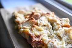 Bread Pudding Recipe: Simple and Easy - This is the BEST bread pudding, and resembles the old fashioned recipe we all love! It's basic, and uses everyday ingredients!