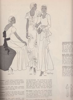 Butterick magazine, Spring 1932 featuring Butterick 4263, 4252 and 4078