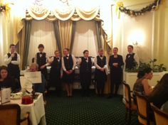 Restaurant Staff ready to Serve your delicious meals
