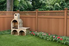 landscaping ideas for backyard fences