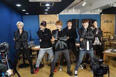 Minhyuk, Hyunsik, Eukwang, Changsub, Ilhoon, Penial BTOB THE BEAT Episode 6.