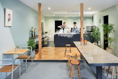snow picnic ice cream store in tokyo by torafu architects