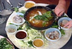 Chinese Seafood Hot Pot