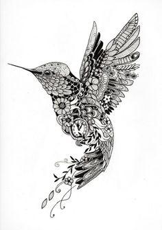 """Tattoo template """"Hummingbird""""- Tattoo-Vorlage """"Kolibri"""" Tattoo design of a . - Tattoo template """"Hummingbird""""- Tattoo-Vorlage """"Kolibri"""" Tattoo design of a hummingbird of - Dotwork Tattoo Mandala, Mandala Tattoo Design, Tattoo Designs, Small Mandala Tattoo, Sun Mandala, Flower Mandala, Hummingbird Flower Tattoos, Hummingbird Drawing, Hummingbird Quotes"""