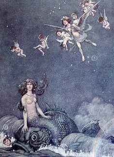Jeg er en Mermaid: havfrue Vintage