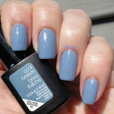 "The perfect spring color! Sensationail in ""Cool Breeze"""