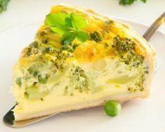 Quiche végétalienne aux légumes verts : http://www.fourchette-et-bikini.fr/recettes/recettes-minceur/quiche-vegetalienne-aux-legumes-verts.html