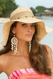 Avoid getting too much sun at all cost!  Don a cool hat to protect your scalp and face from the rays.  Be smart this summer.