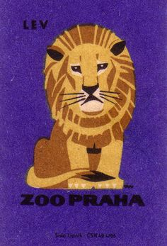 czech matchbook cover, 1963