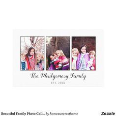 Shop Beautiful Family Photo Collage Canvas Print created by homesweetesthome. Personalize it with photos & text or purchase as is! Photo Collage Canvas, Photo Collage Gift, Family Photo Collages, Canvas Art Prints, Family Photos, Vacation Pictures, Beautiful Family, Diy, Frames
