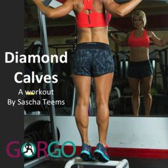 Diamond Calves Workout www.gorgomag.com