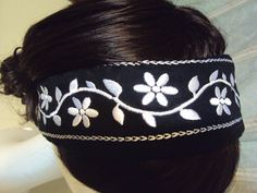 Upcycled Fleece lined one size fits all Headband by BandAHeads, $18.00