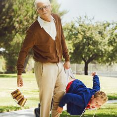 Jackass Presents: Bad Grandpa Poster -- Johnny Knoxville returns as Irving Zisman, who creates a stir anytime he's in public with his grandson in Paramount's upcoming comedy. -- http://wtch.it/E51EJ