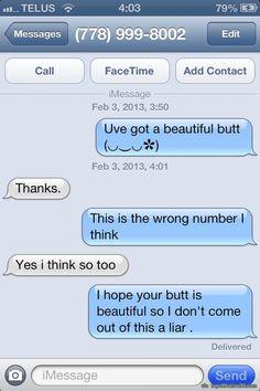No message via topoftheline99.com    hahaha.. Liar.