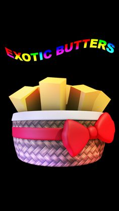 EXOTIC BUTTERS FROM FIVE NIGHTS AT FREDDY'S http://zimandchowder4evr.deviantart.com/art/Exotic-butters-639217360