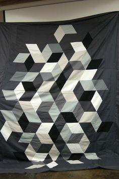 YES. Portland Modern Quilt Guild: November 2012