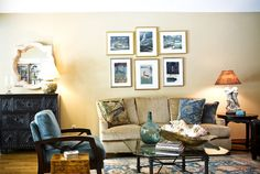 Family Room Color Schemes Design Ideas, Pictures, Remodel, and Decor - page 28.           Relaxing color scheme.
