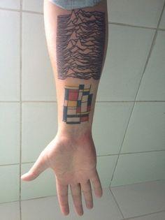 O este, un poco más parecido a la obra real: | 33 Bellos tatuajes inspirados en artistas famosos