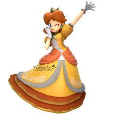 Daisy (SSB:Ultimate) by Hanxulz on DeviantArt Mario Run, Mario Bros., Mario Party, Mario And Luigi, Mundo Super Mario, New Super Mario Bros, Super Mario Art, Mario Princess Daisy, Anime Princess