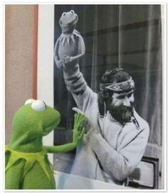 Jim Henson and Kermit