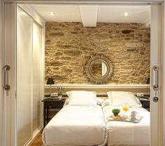 Catedral Suites - Apartamentos Turísticos en Santiago de Compostela, Galicia. Apartamento Cruceiro do Gaio, Primera Planta