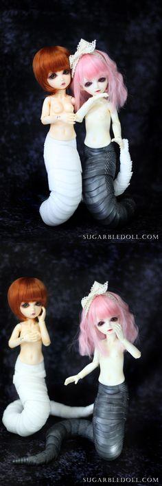 SUGARBLE black or white Naga tail  1