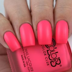 Color Club Don't Toy With Me swatched by Olivia Jade Nails Color Club Nail Polish, Jade Nails, Olivia Jade, Nail Colors, Colours, Pretty Nails, Swatch, Toy, Beauty