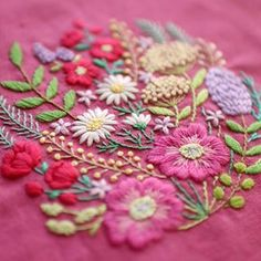DM for credit/removal 😉 DoubleTap & Tag a Friend Below⤵ By 📷: Silk Ribbon Embroidery, Hand Embroidery Designs, Embroidery Art, Hand Work Blouse Design, Crochet Wool, Dress Neck Designs, Brazilian Embroidery, Beautiful Crochet, Needlework
