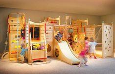 Спортивный уголок в детской комнате :: Фото красивых интерьеров