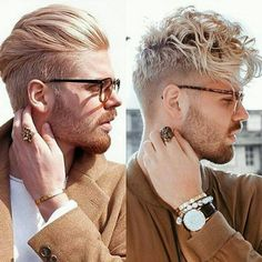 Which one are you? Left or right? Slicked back and clean, or Messy but styled?